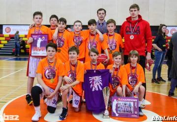 CSKA  BBBL season 2017/2018 champions, U11 group /bb2007/