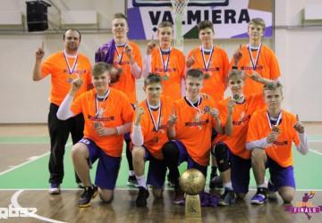 U15 bb2004 champions T.Soku/SK Nord /EST/ team