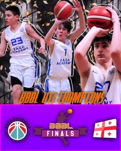 Z.Pachulia Academy – BBBL U13 /bb2006/ champions