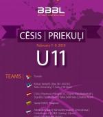 U11 Cesis stage, flashback